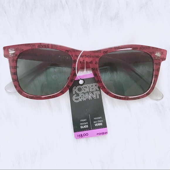863f08ab5d5b1 Vintage Deadstock Foster Grant Wayfarer Sunglasses